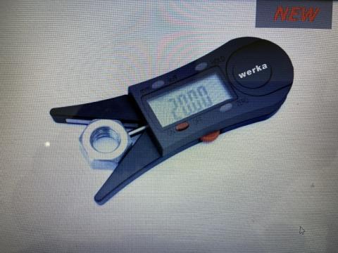 Dụng cụ đo kiểm tra đai ốc werka