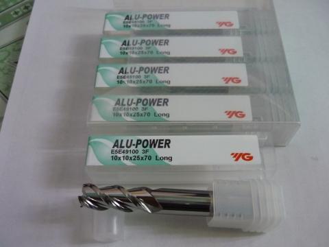 Phay nhôm D10 dòng Alu Power E5E49